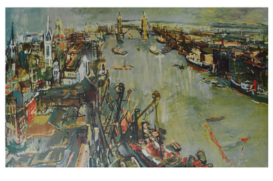 Oskar Kokoschka London Towerbridge