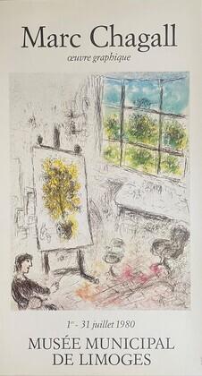 Marc Chagall Limoges (Aragon,Malraux)