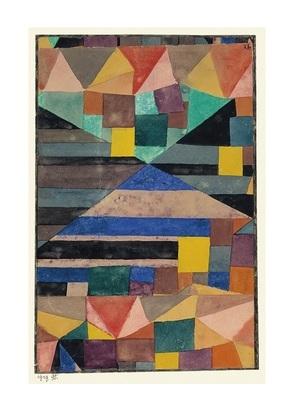 Paul Klee Blauer Berg, 1919