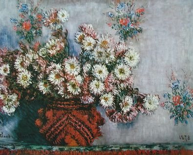 Claude Monet Chrysanthemen