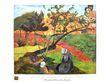Paul Gauguin Landschaft mit bretonischen Frauen