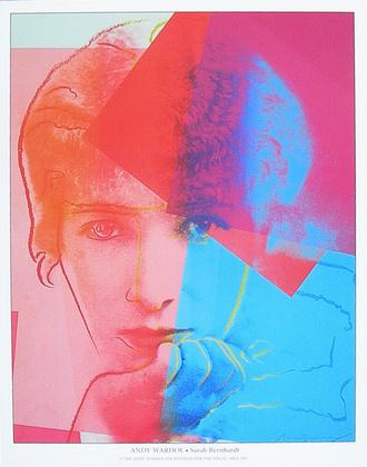 Andy Warhol Sarah Bernhardt