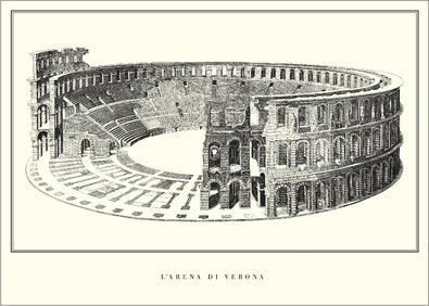 unbekannter Kuenstler Arena von Verona