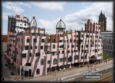 Friedensreich Hundertwasser Die grüne Zitadelle von Magdeburg II