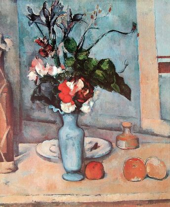 Paul Cezanne Die blaue Vase