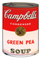 Warhol andy campbells soup green pea medium