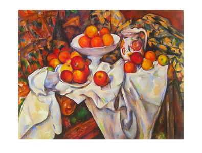 Paul Cezanne Aepfel und Orangen