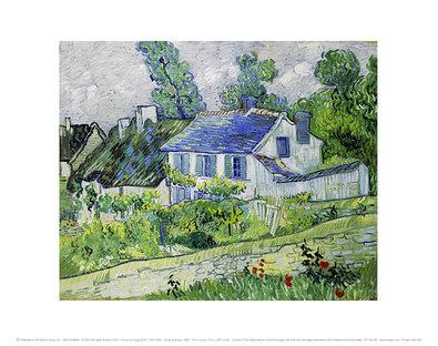 Vincent van Gogh Houses at Auvers, 1890