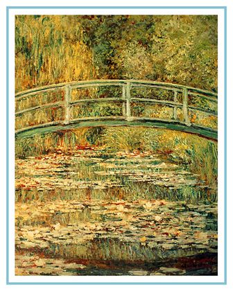 Claude Monet Die japanische Bruecke in Giverny