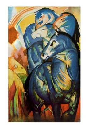 Franz Marc Der Turm der blauen Pferde