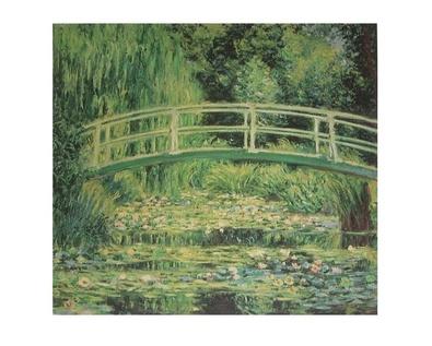 Claude Monet Weisse Seerosen
