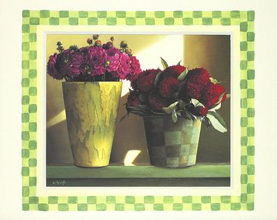 Wouter Roelofs 2er Set - Stilleben mit Vasen