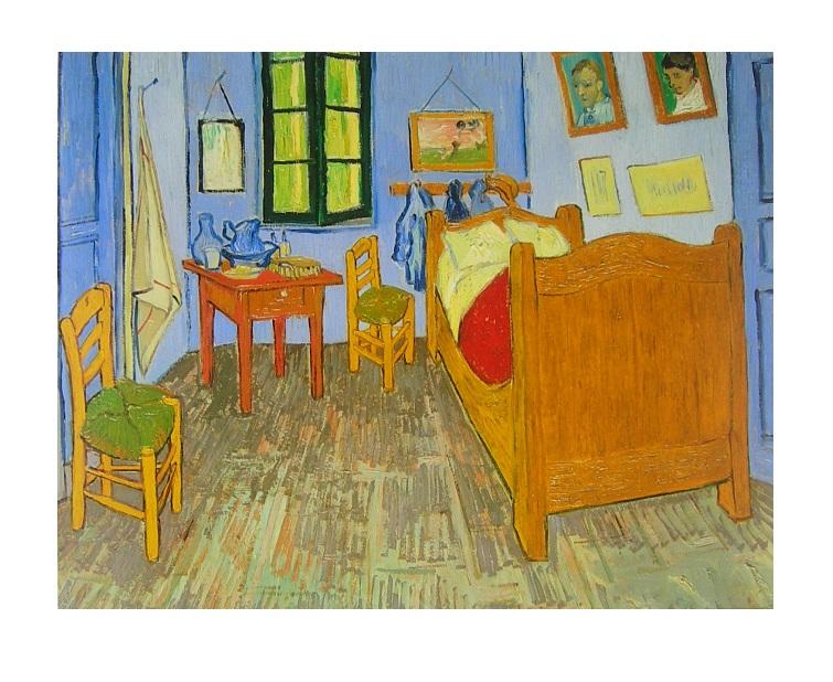 Vincent Van Gogh Zimmer In Arles Poster Kunstdruck Bei