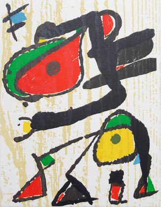Joan Miro Komposition 1991