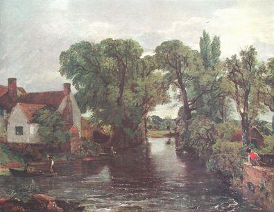 John Constable Der Muehlbach