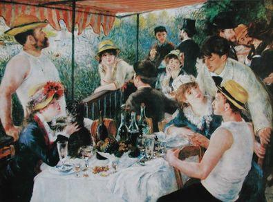 Pierre Auguste Renoir Das Fruehstueck der Ruderer