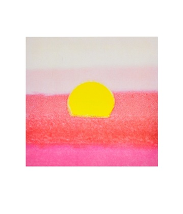 Andy Warhol Sunset, 1972 (pink)