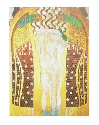 Gustav Klimt Diesen Kuss der ganzen Welt