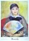 Auguste Renoir Fanciulla con ventaglio