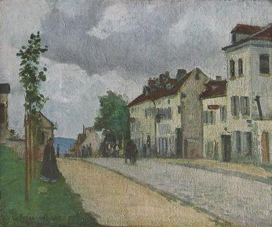Camille Pissarro Strasse in Pontoise