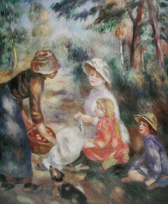 Pierre Auguste Renoir Die Apfel Verkaeuferin