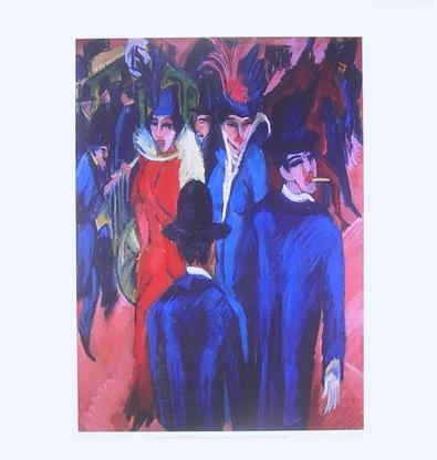 Ernst Ludwig Kirchner Berliner Straßenszene
