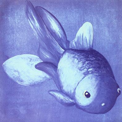 Bekannt nicht blauer goldfisch large