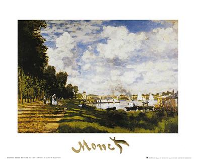 Claude Monet II Bacino Di Argenteuil