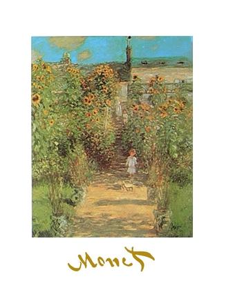 Claude Monet Monets Garten in Vetheuil