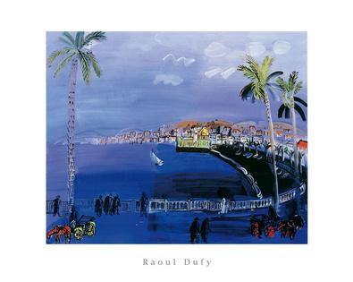 Raoul Dufy Baie de Anges Nice
