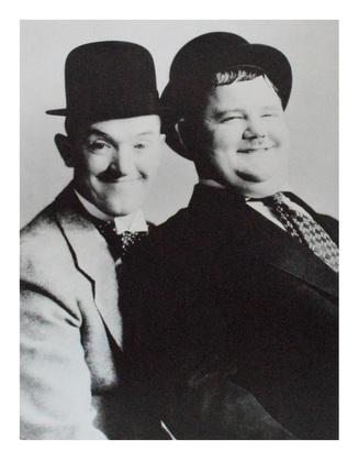 unbekannter Kuenster Laurel & Hardy