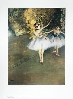Edgar Degas Zwei Taenzerinnen