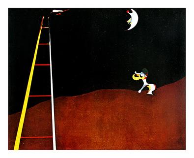 Joan Miro Dog Barking at the Moon