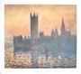 Claude Monet Sunset- Houses of Parliament