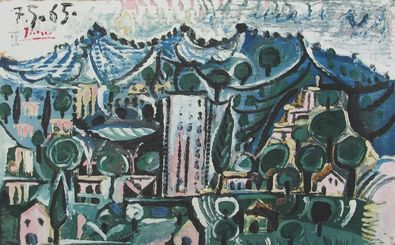 Pablo Picasso Landschaft