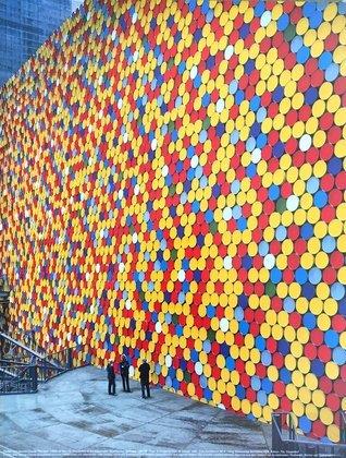 Christo und Jeanne-Claude The Wall Nr. 6 (Oberhausen)
