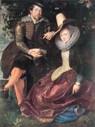 Peter Paul Rubens Der Kuenstler und seine erste Frau