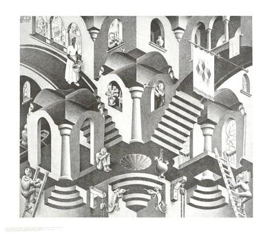 MC Escher Konkav und Konvexe