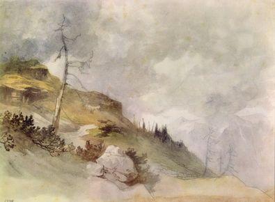 Friedrich Gauermann Gebirgslandschaft