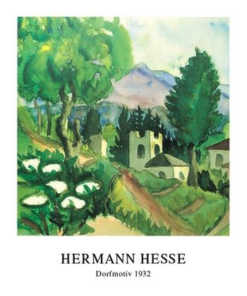 Hermann Hesse Dorfmotiv