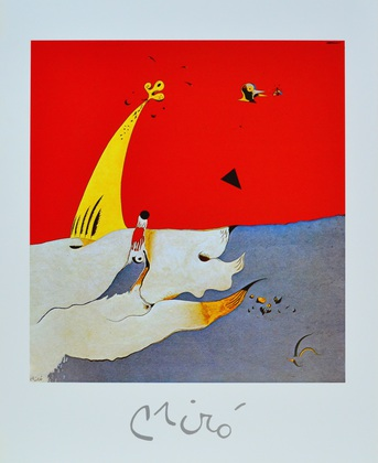 Joan Miro Paysage