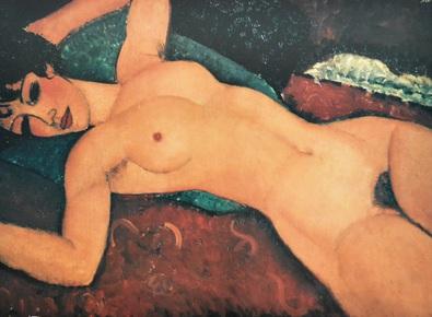Amedeo Modigliani Nudo