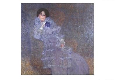Gustav Klimt Bildnis Marie Henneberg