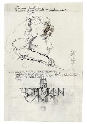 Horst Janssen Desdemona