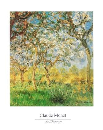 Claude Monet Der Fruehling