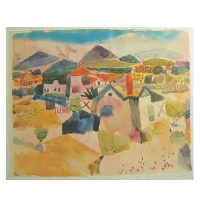 Paul Klee Ansicht von Saint Germain