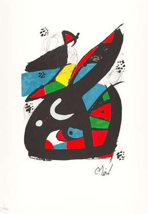 Joan Miro La Melodie Acide X