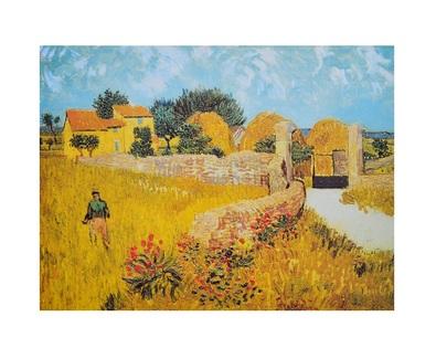 Vincent van Gogh Bauernhof in der Provence
