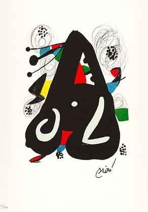 Joan Miro La Melodie Acide VII