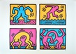 Keith Haring Pop Shop Quad II (1988)